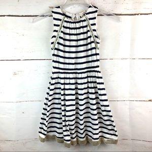 Crewcuts | Striped Dress, Size 10 Girls